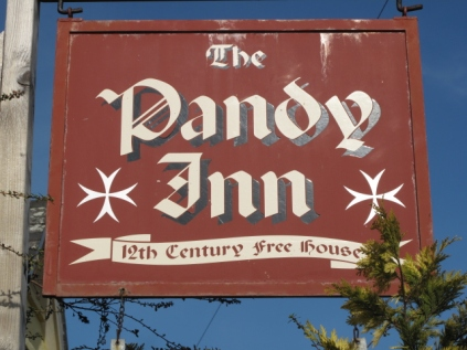 Pandy Inn, Dorstone, England, est. 1185!