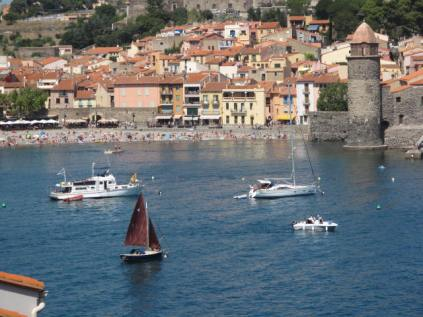 August, Collioure, France