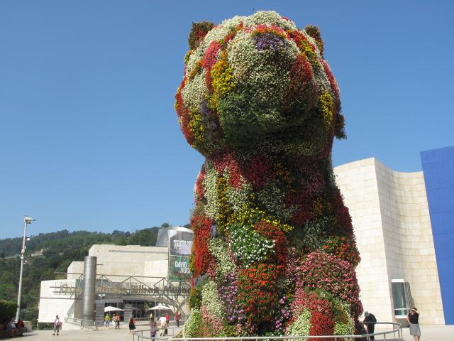 Jeff Koons, Puppy, Guggenheim, Bilbao, Spain