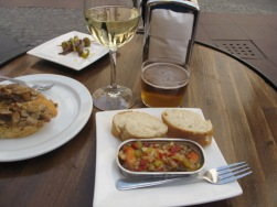 Pintxos lunch, Jaca, Spain