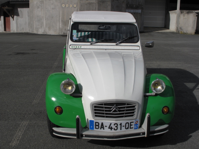 Citroen 2 Chevaux...made to last!