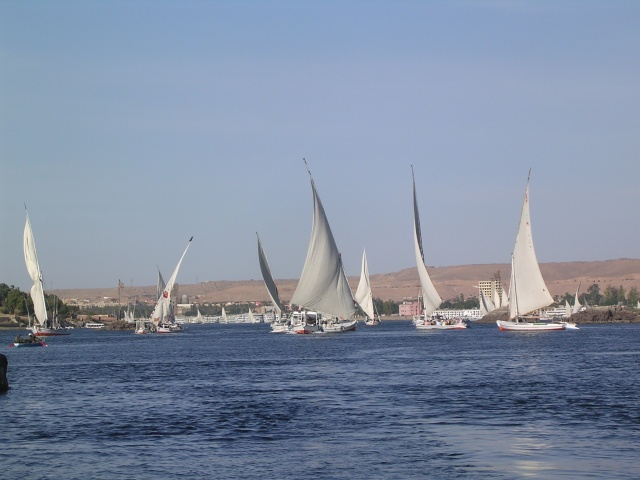 Felucca on the Nile, Aswan