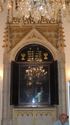 The Ark in one of the centuries old Synagogues