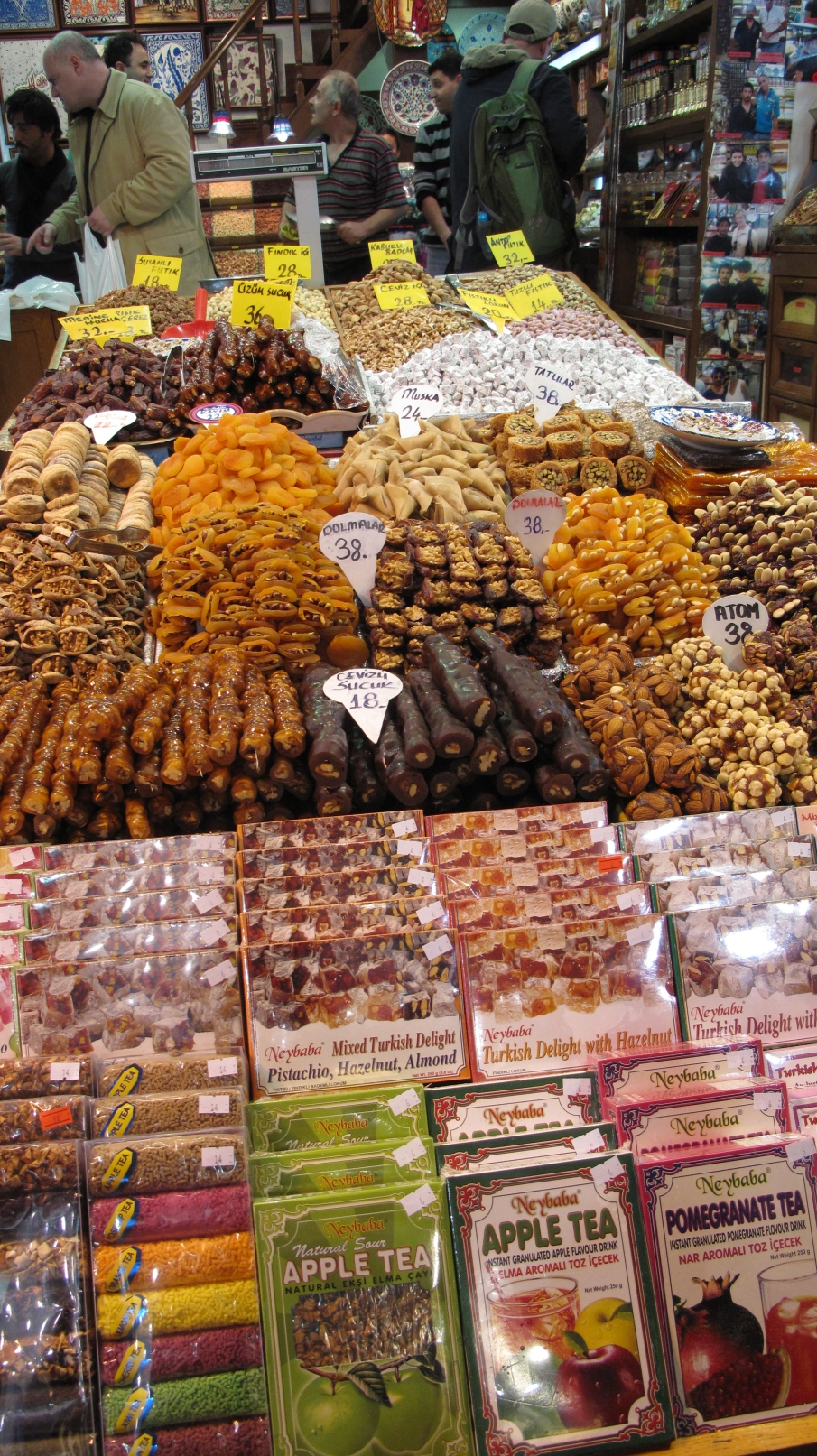 Abundance of nuts and sweets!