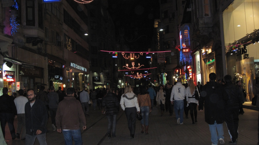 Caddesi Istiklal (Street) One of the busiest streets in Istanbul