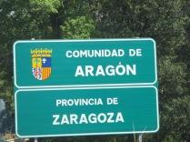 Changing regions in Spain