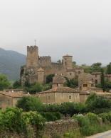The Château de St. Jean in clouds