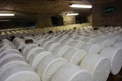 Roquefort in the caves